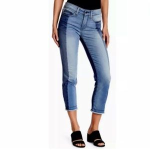 NYDJ Sheri Slim Ankle Jeans Plus 16W Fray Hem